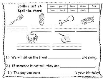 Spelling & Word Work Station Activities List 24 Or Words -TEKS