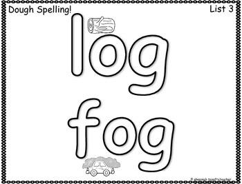 Spelling & Word Work Station Activities List 3 Short O Words TEKS Based