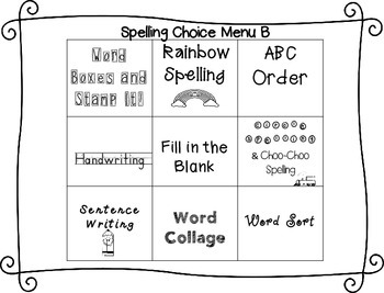 Spelling & Word Work Station Activities List 9 Blends: Bl,Cl,Fl,Pl,Gl -TEKS