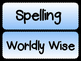 Spelling/Wordly Wise Poster
