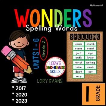 Spelling Words 1st Grade WONDERS