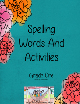 Spelling Words Activities