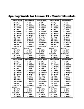 Spelling Words for Unit 3 - BUNDLE Pack - Grade 3 Journeys