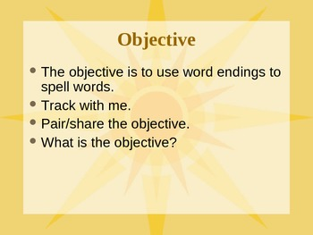 Spelling Words when Adding -ed or -ing