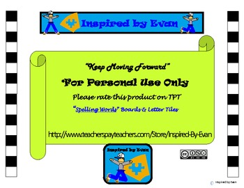 Spelling Words with Letter Tiles for Autism