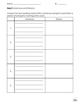 Spelling Work Bundle (4th-6th Grade)