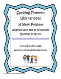 Spelling Worksheets For 36 spelling patterns