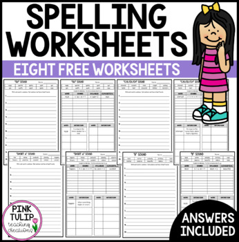 Spelling Worksheets - Phonemes and Graphemes