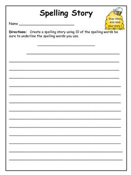 Spelling Worksheets and Activities