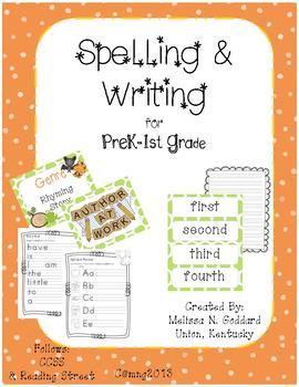 Spelling & Writing K4-1st