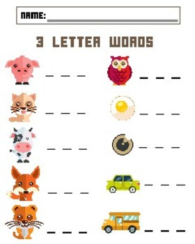 Spelling and Counting Animals