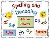 Spelling Rules and Decoding Strategies Orton-Gillingham Based Poster Set