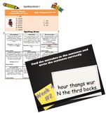 Spelling and Grammar Bundle!