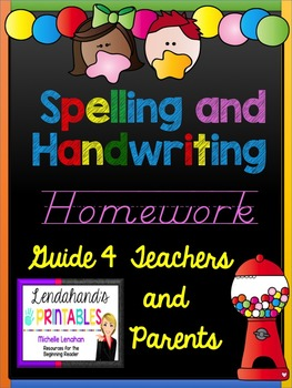 Spelling and Handwriting Guide for Primary Teachers and Parents