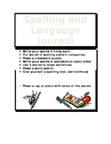 Spelling and Language Journal Cover