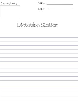 Year Long Grammar and Phonics Dictation Lessons