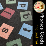 Spelling and Phonics - -NG and - NK - Word Work Center