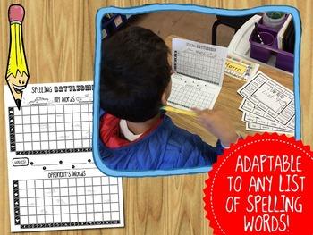 Spelling and Sight Word Battleship