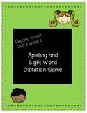 Reading Street 1st Grade Unit 3 Week 6: Spelling & Sight W
