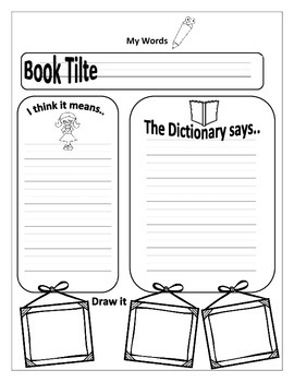 Spelling and Sight Word Worksheets