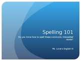 Spelling and Usage Practice Bundle
