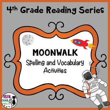 4th Grade Reading Street Spelling and Vocabulary Activities | Moonwalk