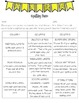 Spelling and Vocabulary Choice Boards (Differentiated)