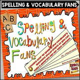 Spelling and Vocabulary Activities