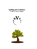Spelling and Vocabulary:  grade 11 -level 2 (college)