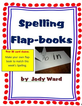 Word Families and Spelling Flap-books