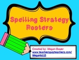 Spelling and Word Study Strategy Posters