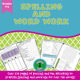 Spelling and Word Work Activities