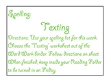 Spelling and Word Work Task Cards