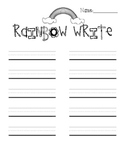 Spelling and Writing Printables