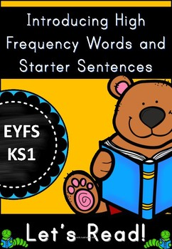 High Frequency Words and Starter Sentences Activity Pack