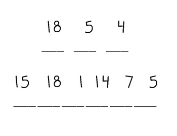 Spelling by Numbers
