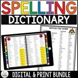 Spelling dictionary Grades 2-5