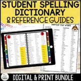 Spelling Dictionary Digital and Print Bundle