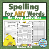 Spelling for ANY Words