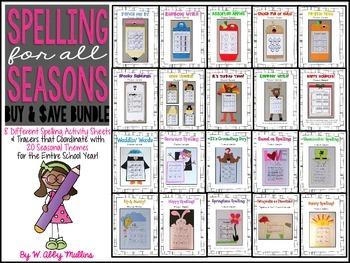 Spelling for All Seasons: BUNDLE