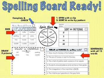Spelling for SuperKids: UNITS 1-8 Second Grade