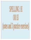 Spelling- ie or ei