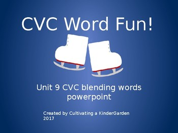 Spelling is Fun! Unit 9 CVC Powerpoint