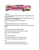 Spelling list weeks 1 - 12
