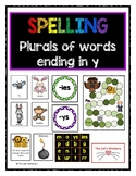 Spelling plurals of words ending in y