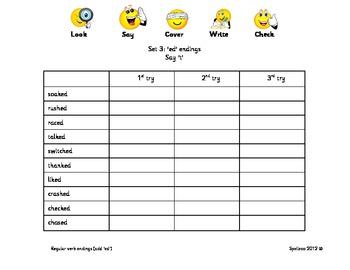 Spelling practice booklet