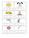 Spelling practice for cvc & ccvc