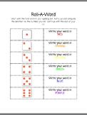Spelling Words RollADice