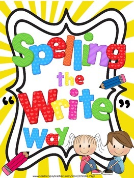 """Spelling the """"Write"""" Way"""