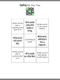 Spelling tictactoe 2